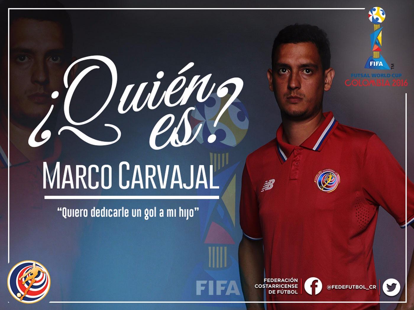 ¿Quién es Marco Carvajal?