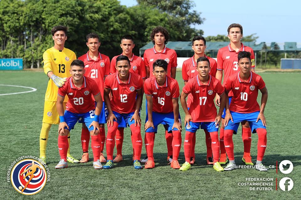 Sub 17 empata en segundo amistoso ante El Salvador