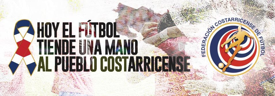 El fútbol se une por Costa Rica