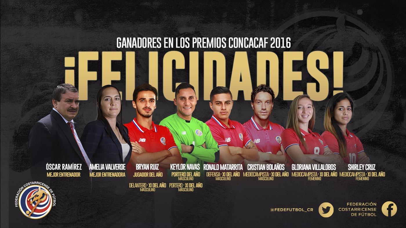 ¡Arrasamos en los premios de CONCACAF!