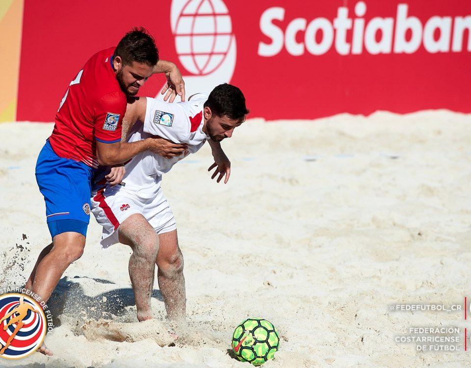 Johnny Pérez CRC vs CAN Premundial Playa