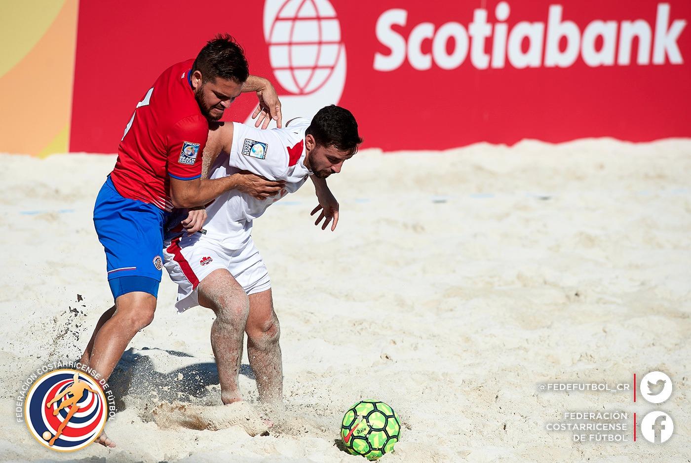 Sele de Playa derrotó a Canadá