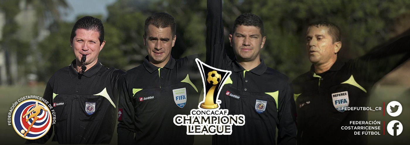 Ticos dirigirán semifinales de Liga de Campeones