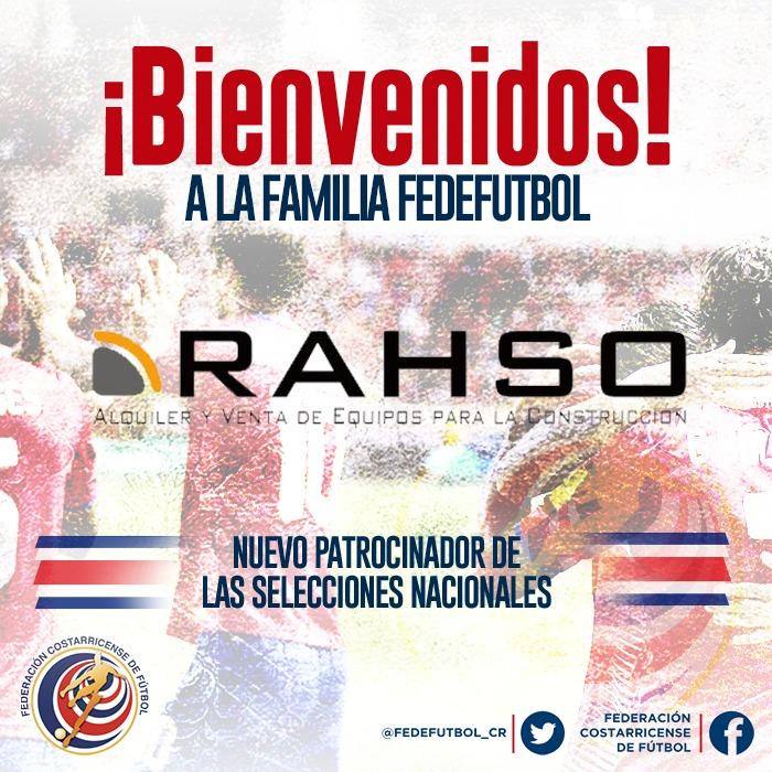 Rahso dará soporte a la FEDEFUTBOL