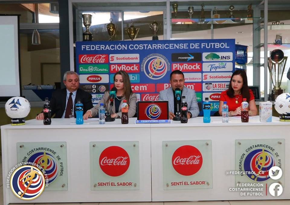 Conferencia con Maternidad Carit y FEDEFUTBOL 28 abril