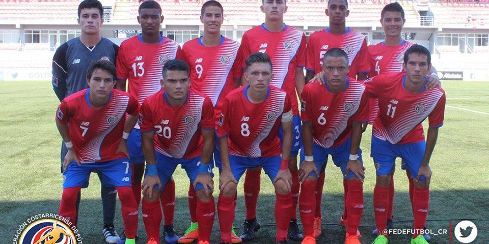 Posada de equipo CRC vs CAN premundial Sub 17 CONCACAF 2017
