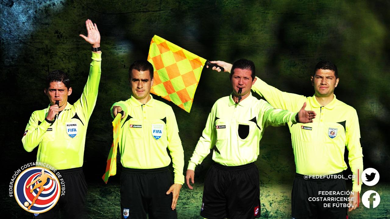 Cuatro árbitros ticos estarán en Copa Oro