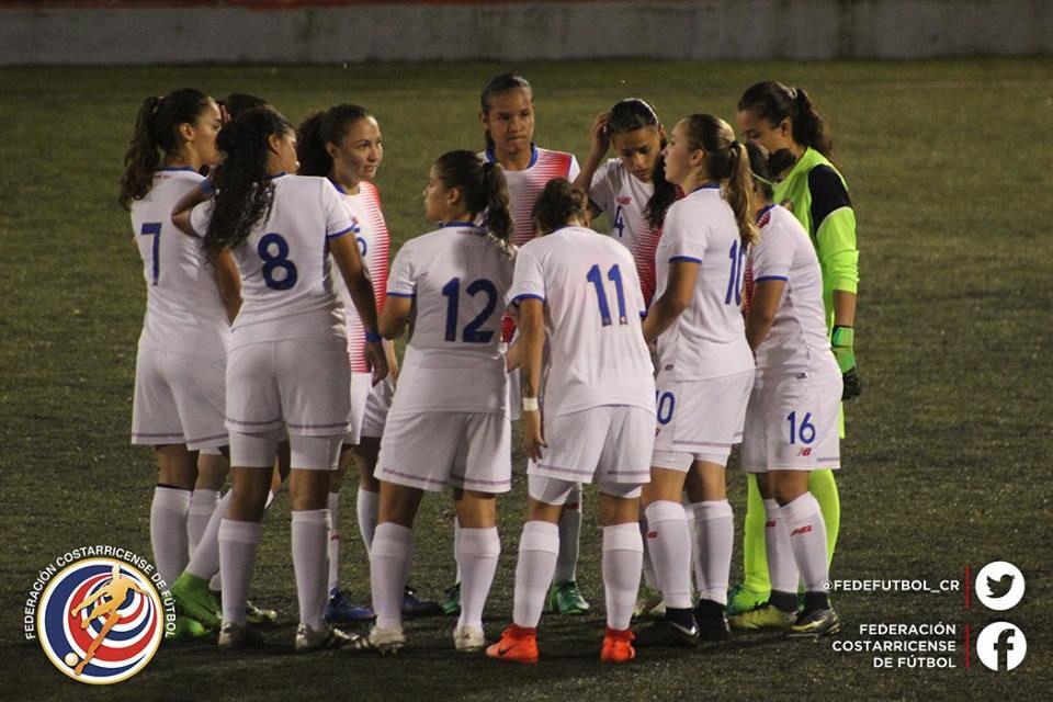 CRC vs NIC eliminatoria Sub 20 femenina 2017