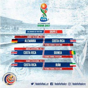 Calendario partidos mundial