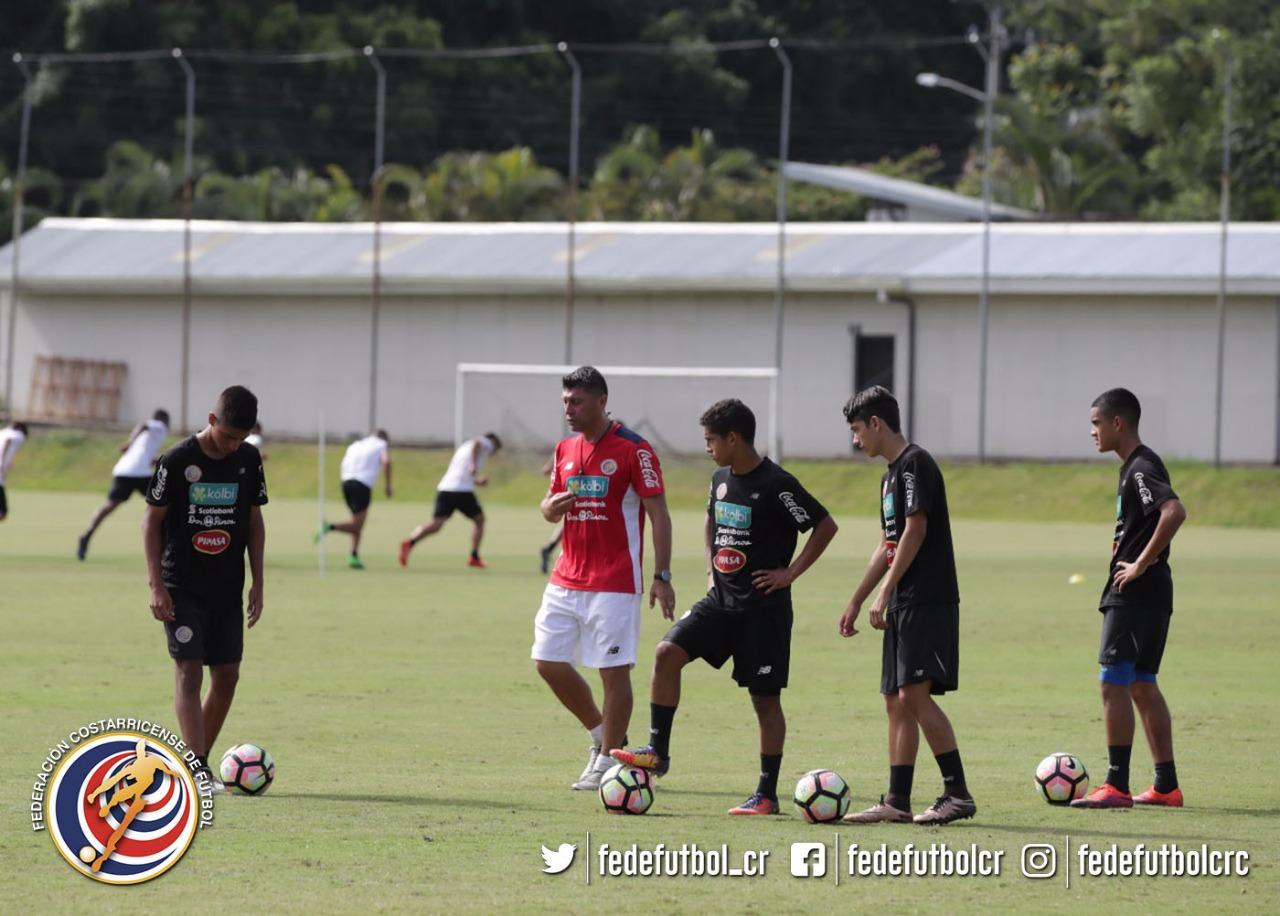 Sub 15 preparada para experiencia en CONCACAF