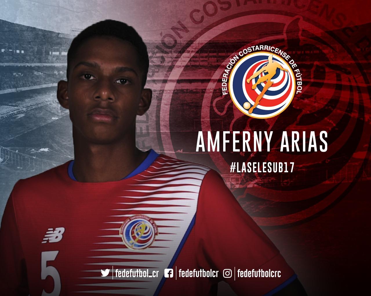 ¿Quién es Amferny Arias?