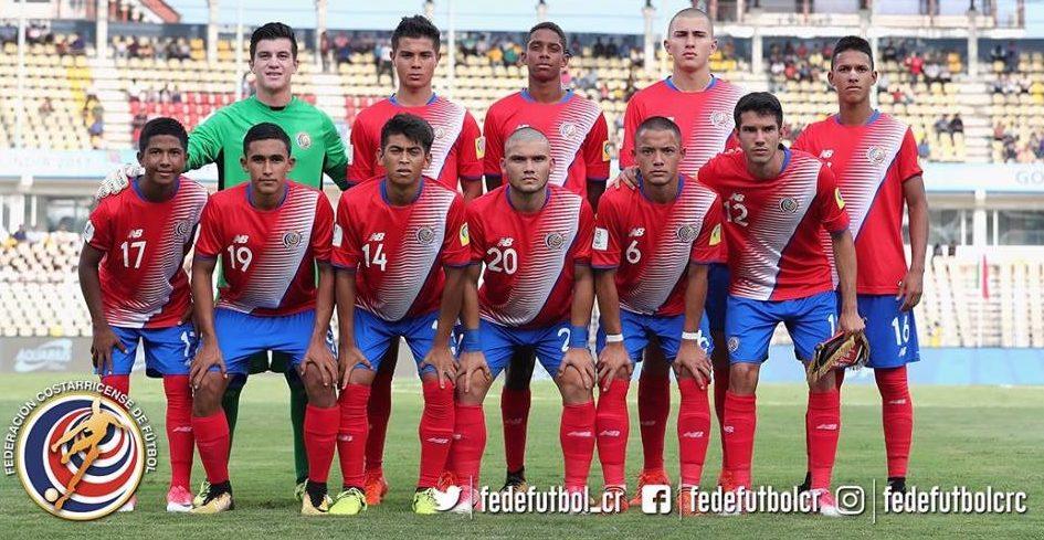 Sub 17 empata contra Guinea