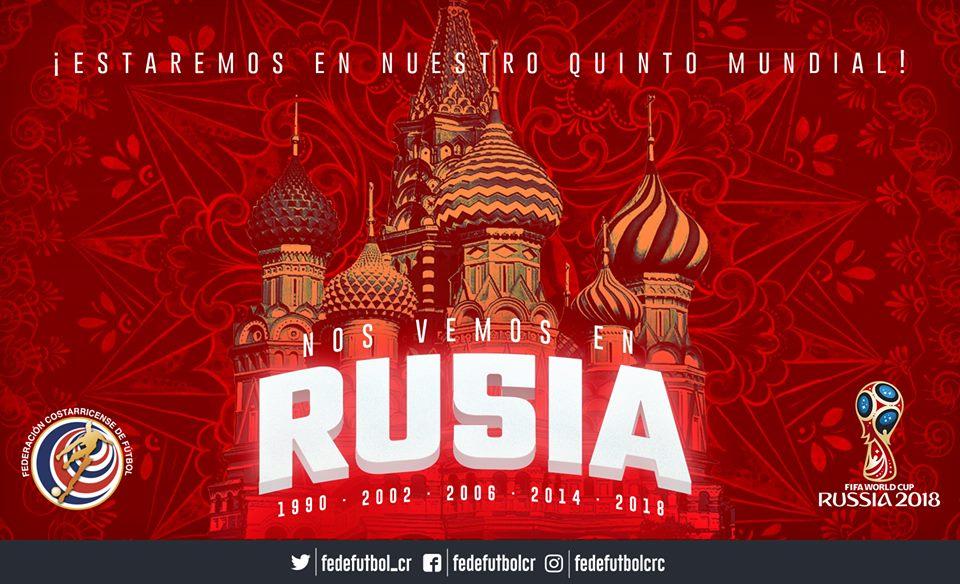¡Rusia, allá vamoooooos!