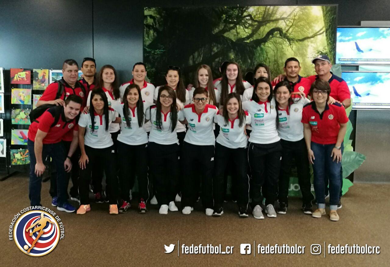 Sele femenina Futsal en gira por Sudamérica