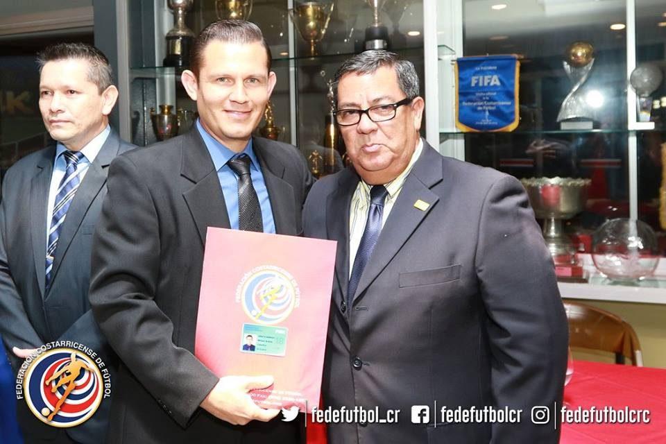 Andrés Arrieta, nuevo árbitro asistente FIFA