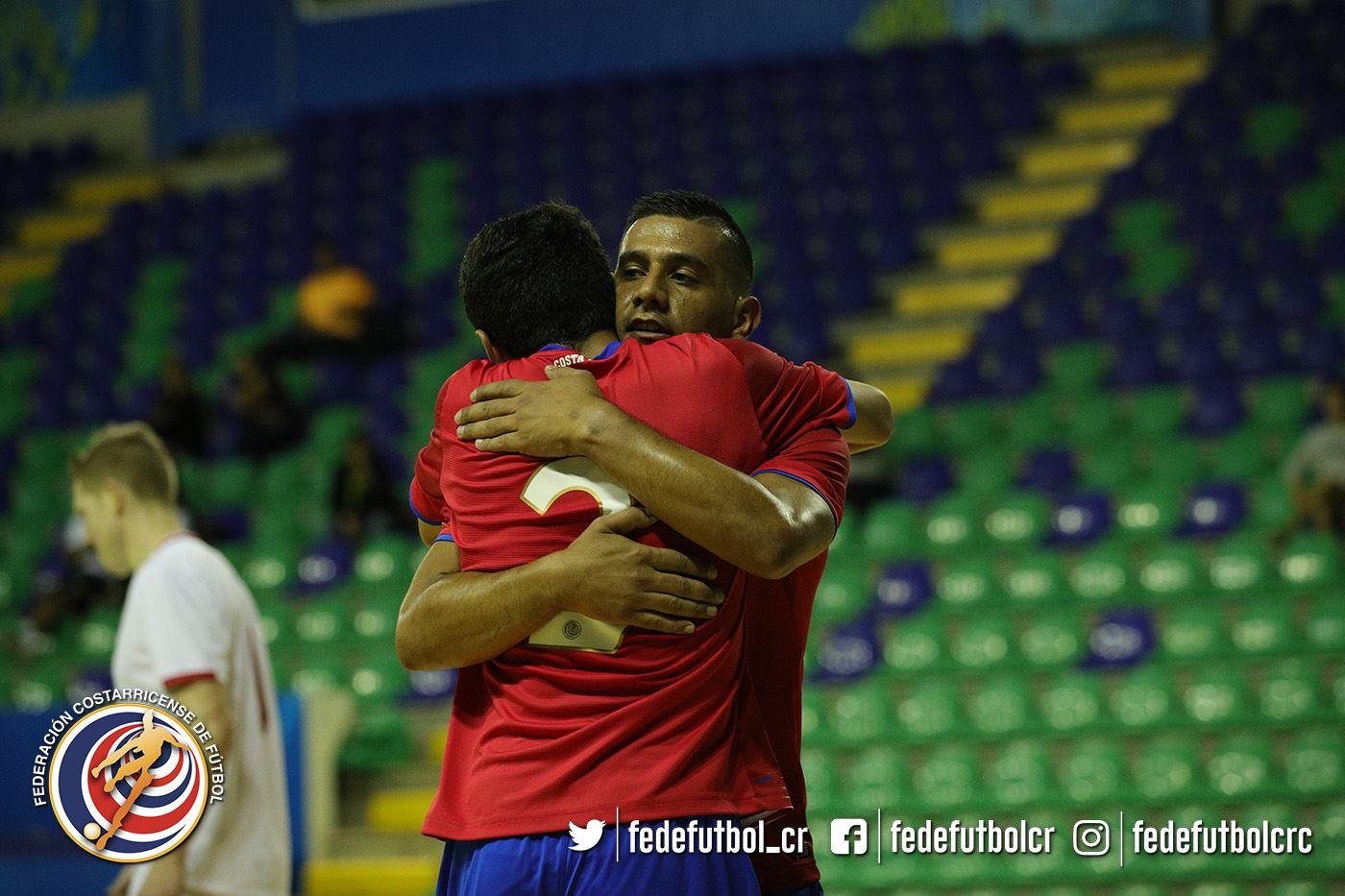 Costa Rica golea a Uruguay en el Grand Prix