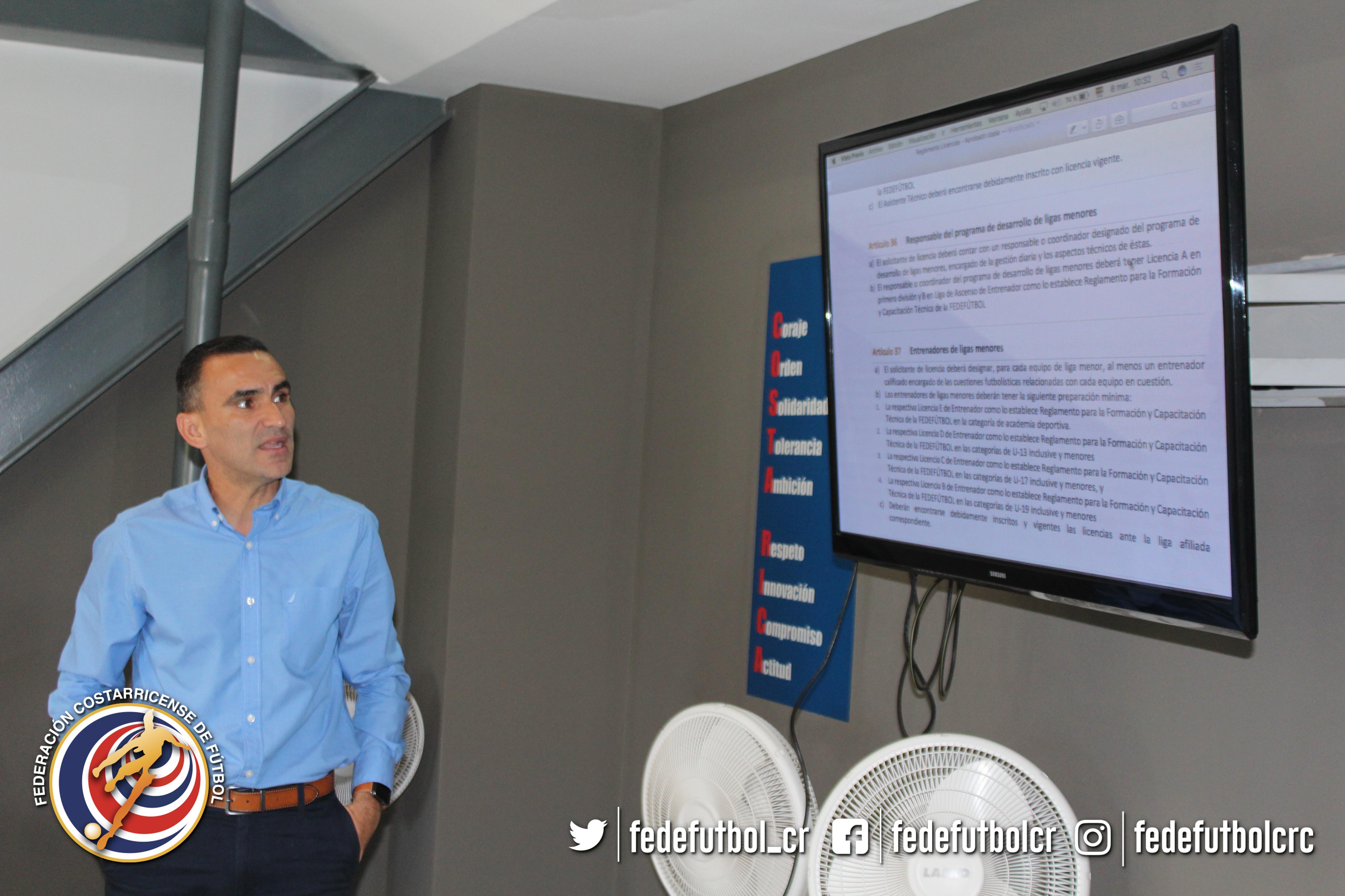 FEDEFUTBOL guía a clubes para desarrollo de liga menor