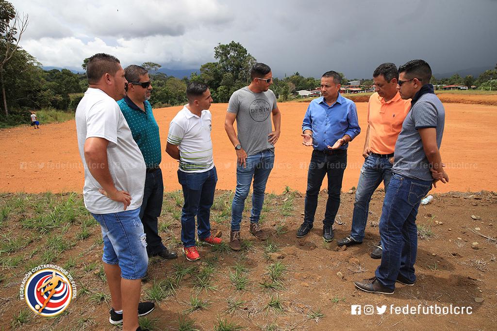 FEDEFUTBOL visitó nuevo proyecto del AS Puma
