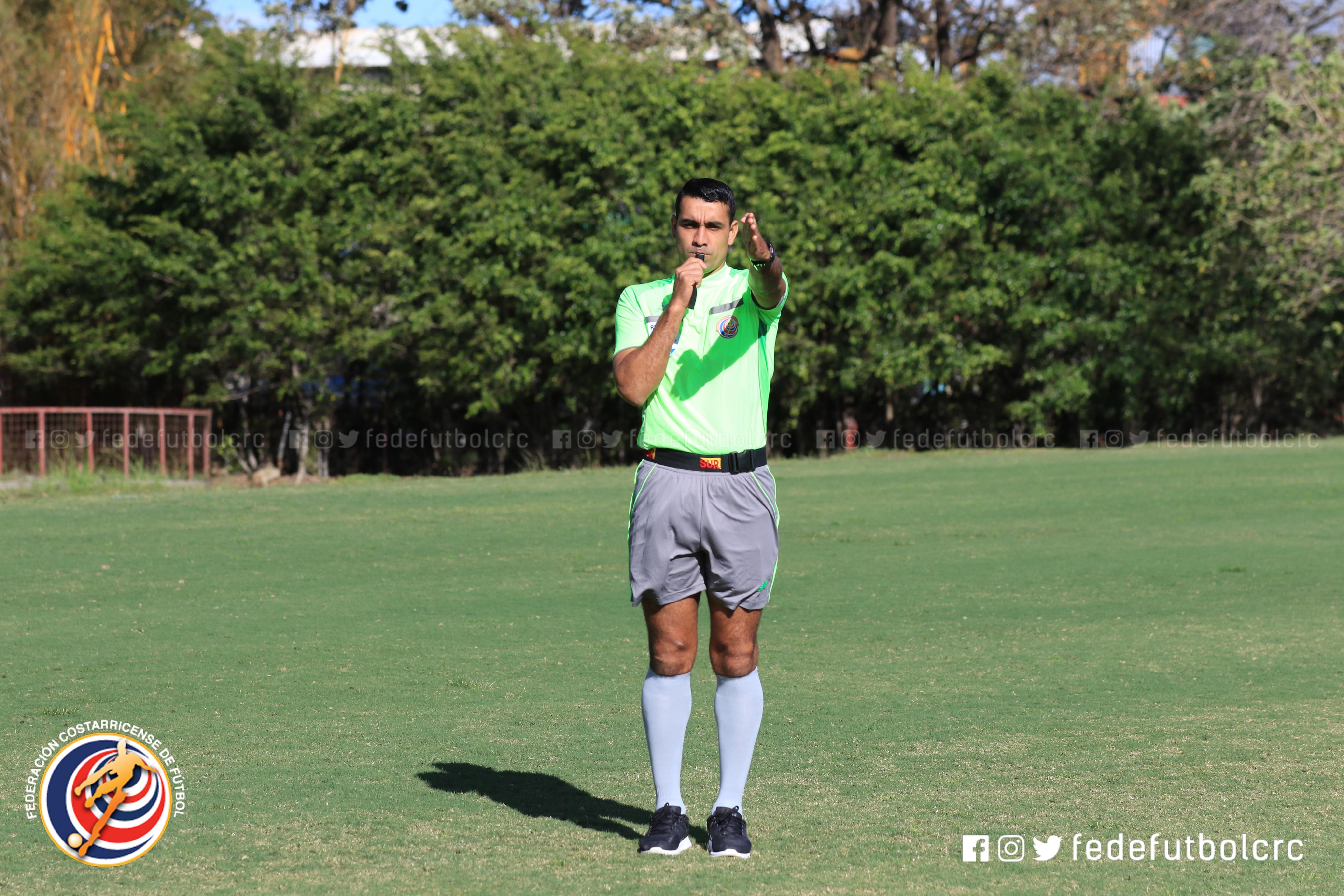 Juan Gabriel Calderón será el árbitro de la final de segunda ronda
