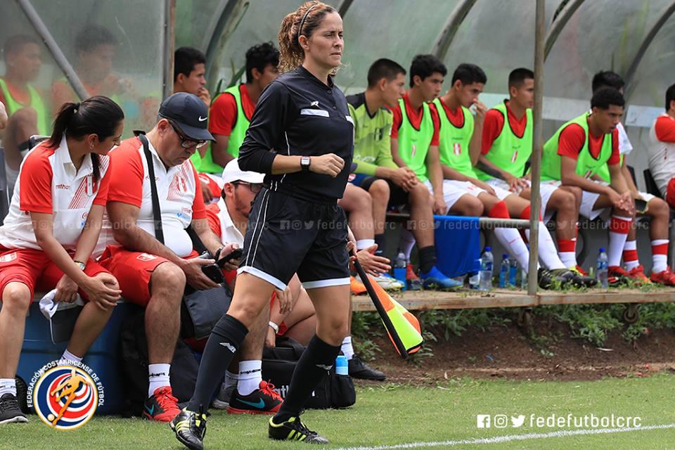 Kimberly Moreira regresa a un partido de Primera División