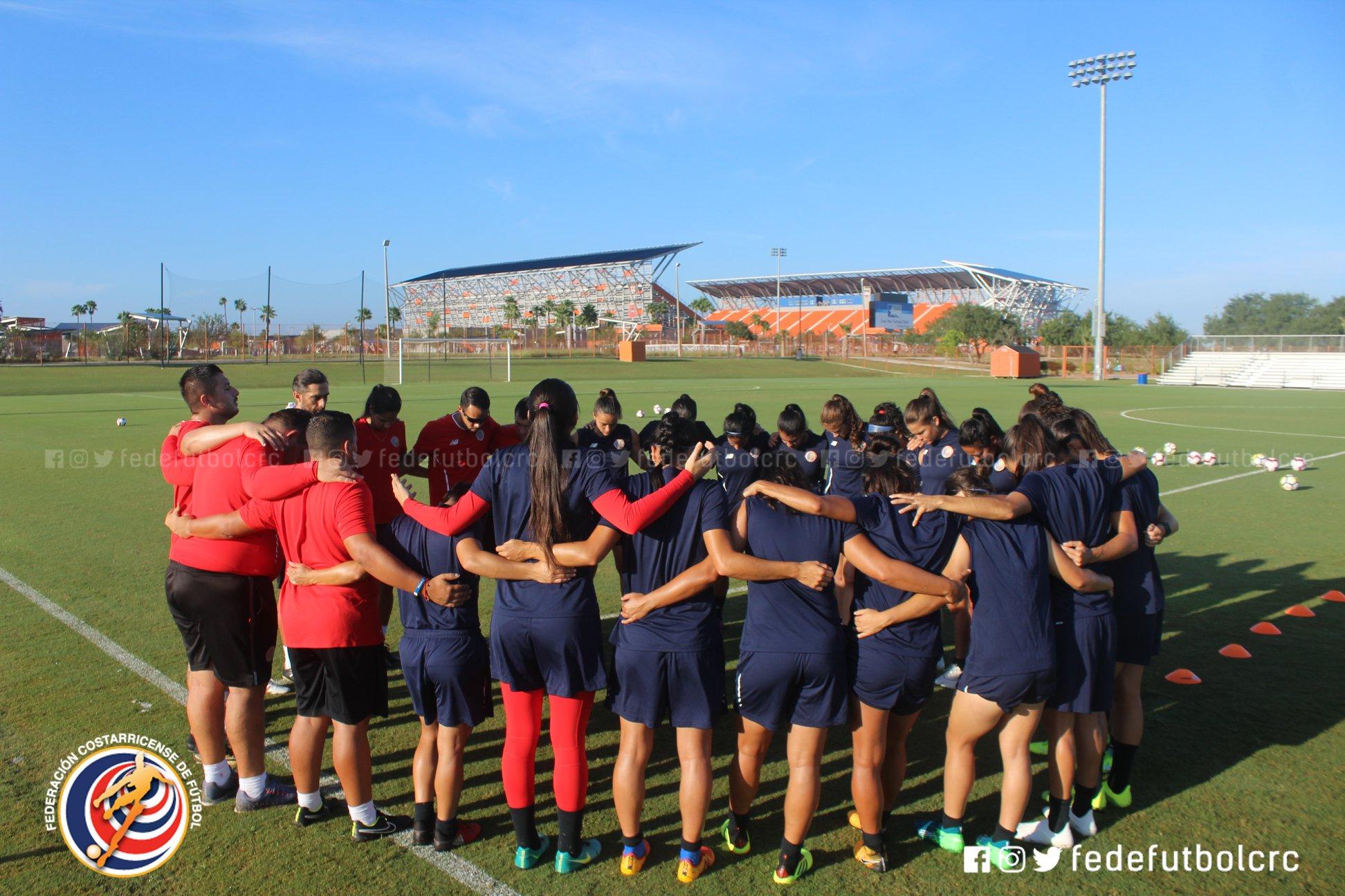 En modo motivación al tope: Femenina por la clasificación ante Jamaica