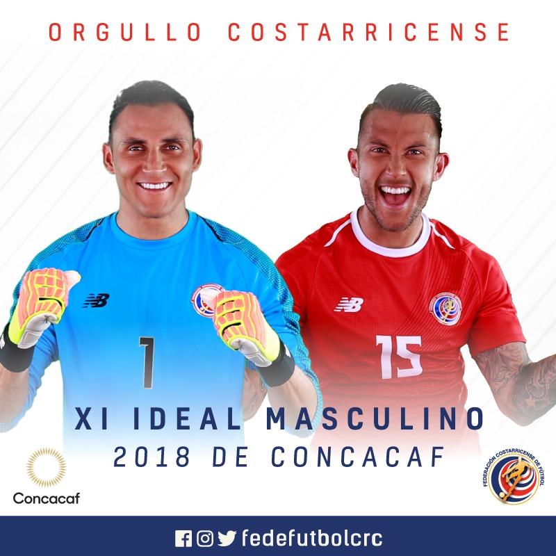 Navas y Calvo entre los mejores de CONCACAF