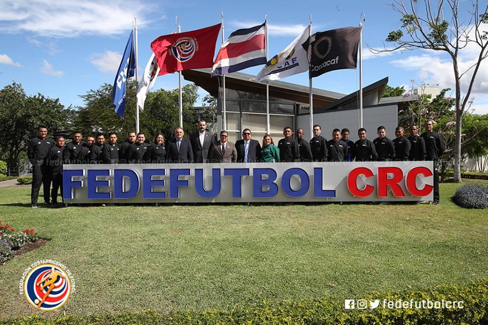 FEDEFUTBOL es sede de curso para árbitros FIFA