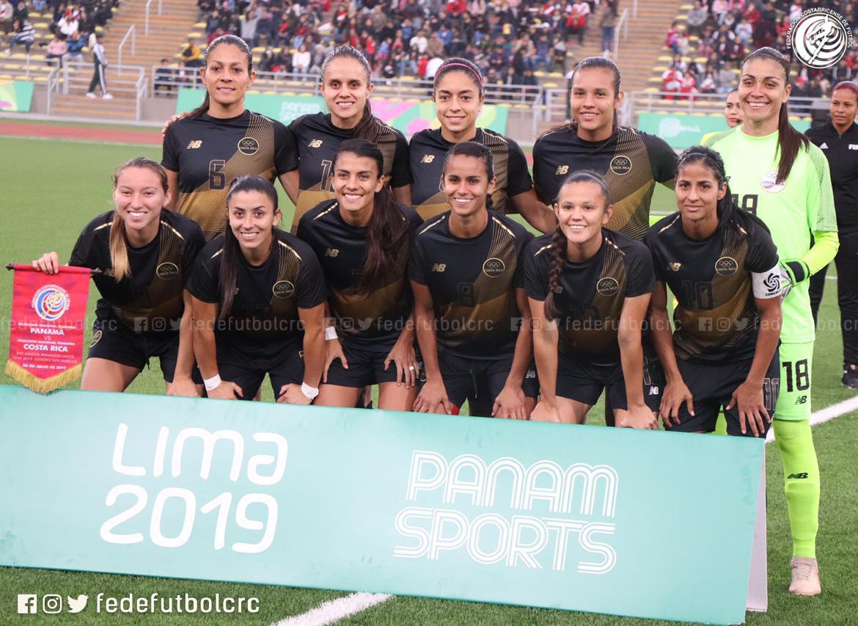 Ticas debutan con goleada en Panamericanos
