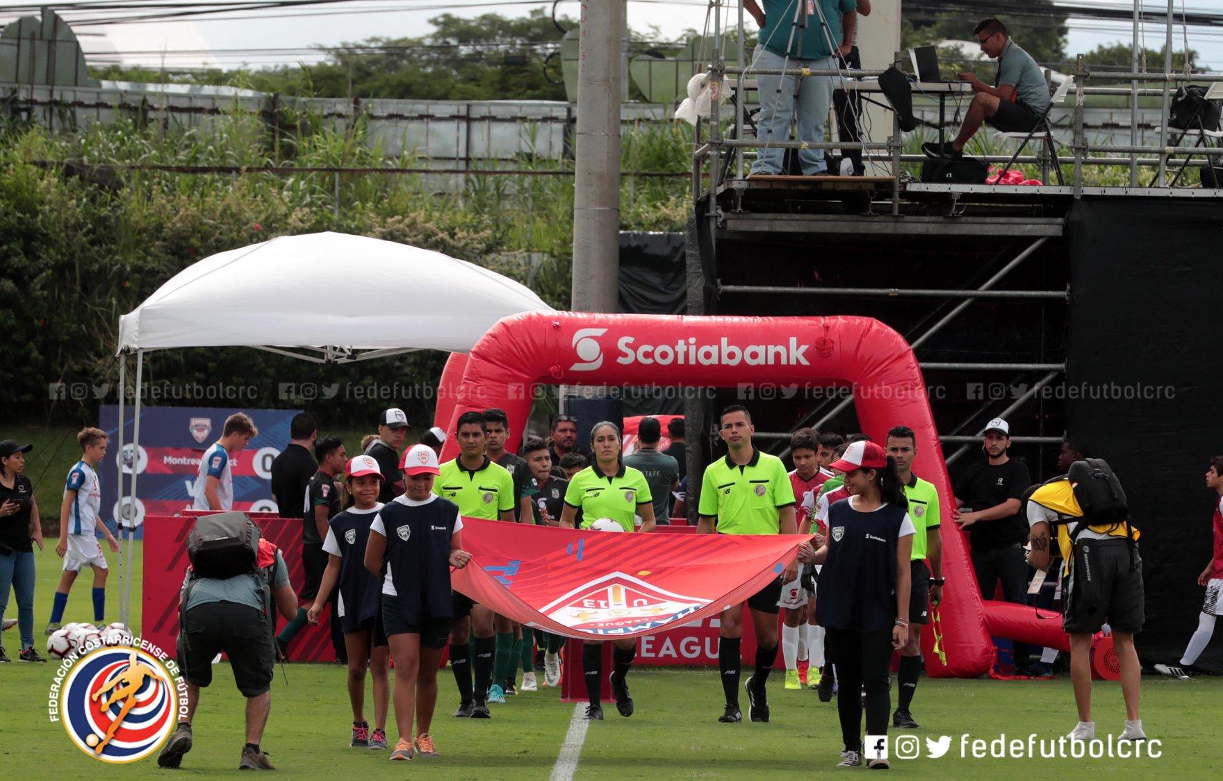 Inició la Liga de Campeones sub 13 de la CONCACAF