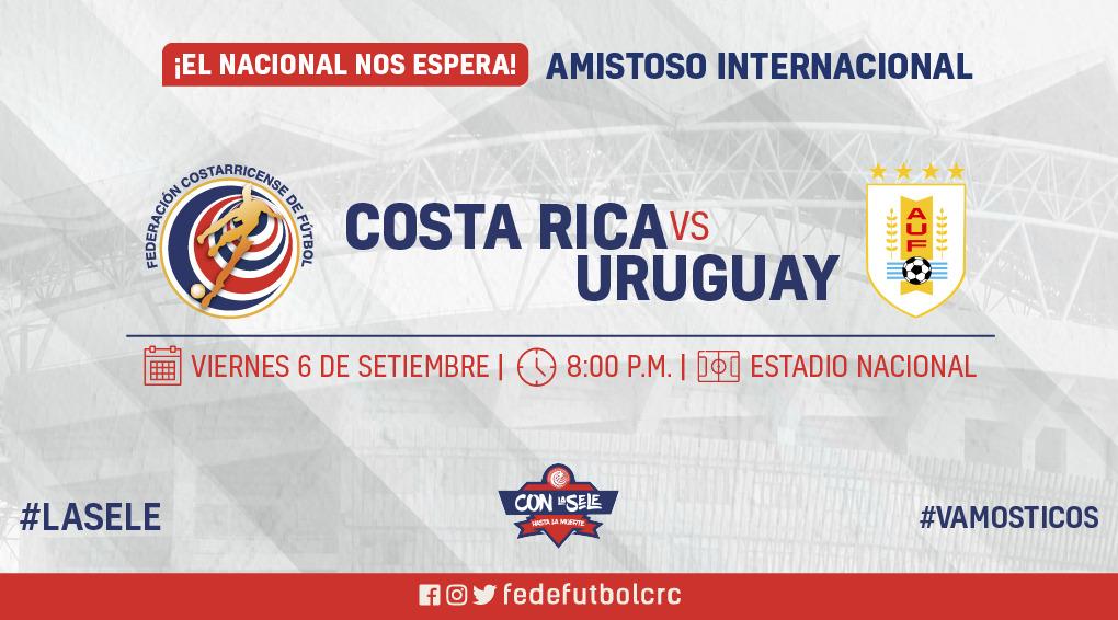 FEDEFUTBOL reajusta precio de entradas para el partido contra Uruguay