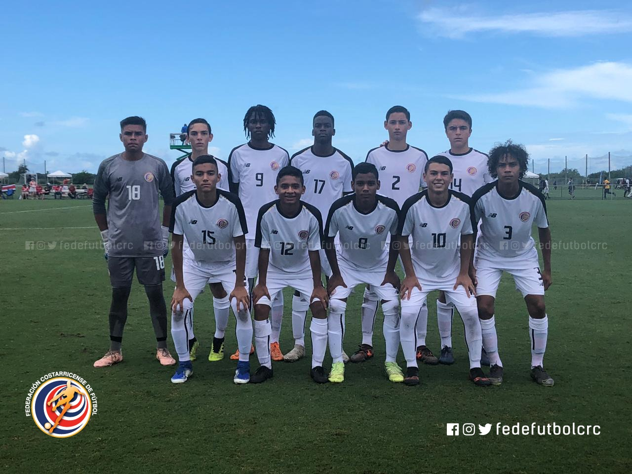 Sub 15 clasifica a segunda ronda del torneo de CONCACAF
