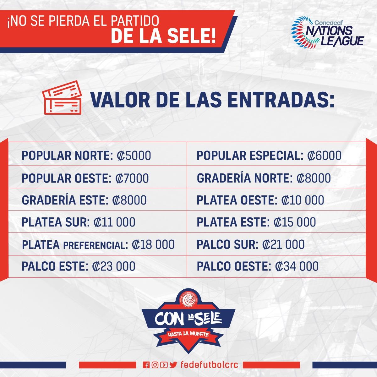 Ya a la venta entradas para el partido ante Curazao