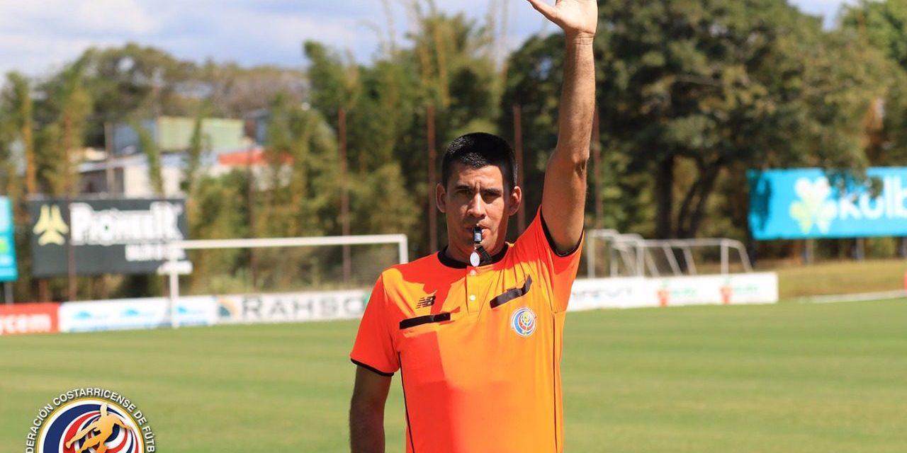 Allen Quirós dirigirá Clásico del buen fútbol