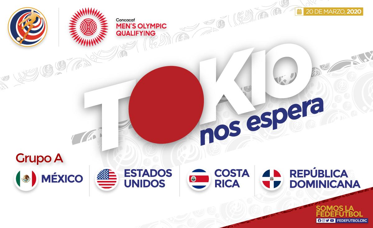 Costa Rica contra grandes rivales en el Preolímpico