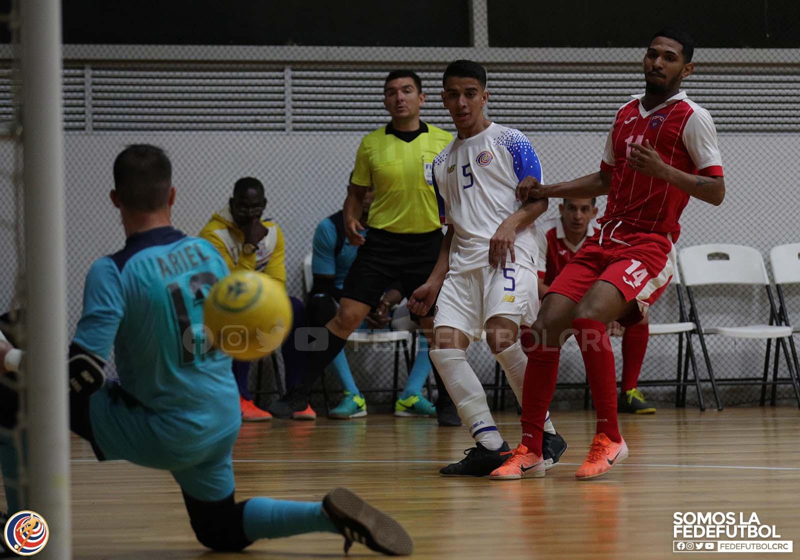 Sele de Fútbol Sala volvió a vencer a Cuba