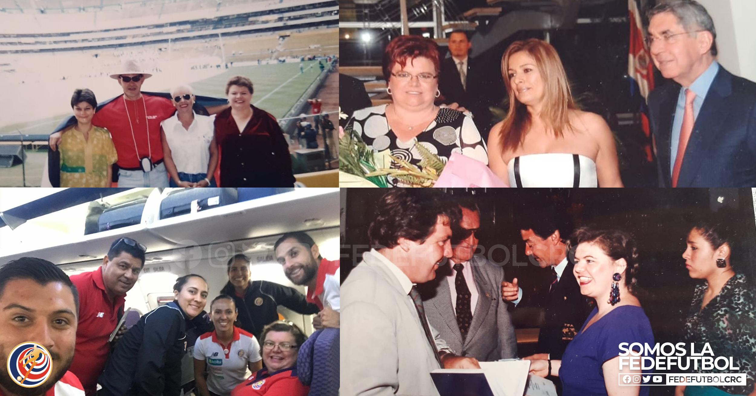 Flor Iveth Gamboa: la señora con 32 años de momentos históricos en la Fedefútbol