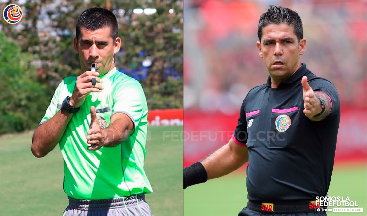 Hugo Cruz y Allen Quirós dirigirán las semifinales de ida del torneo de Primera División