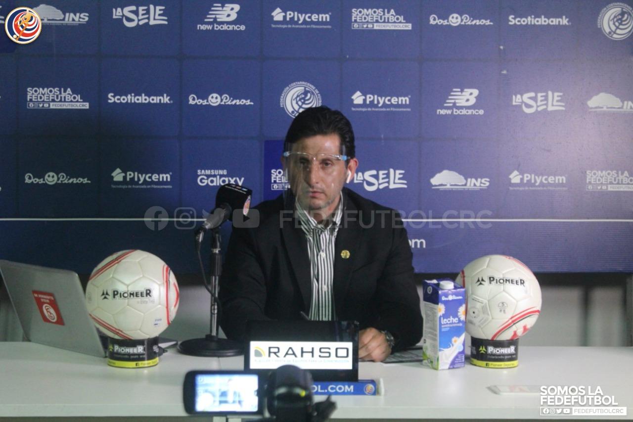 """Rónald González: """"Estamos listos y sabemos lo que debemos hacer"""""""