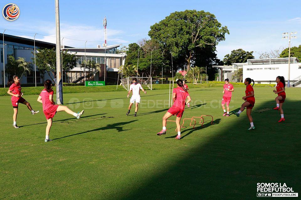 Sele Femenina Sub-20 reinicia preparación mundialista