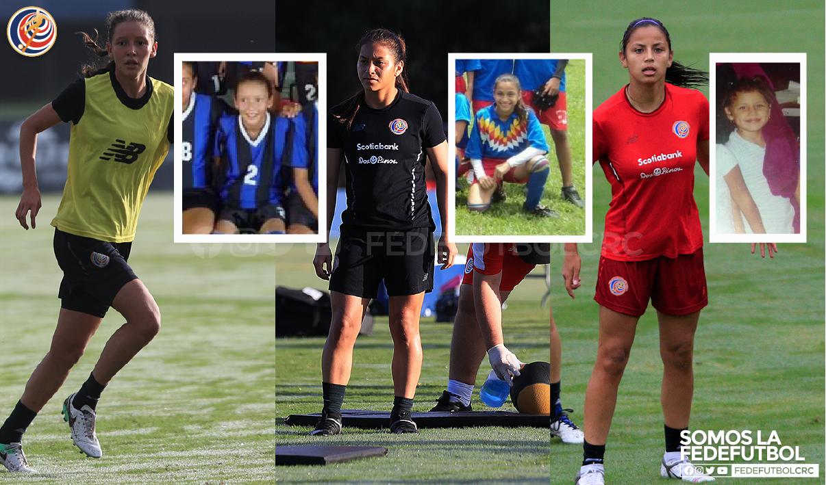 María Fernanda, Sharon y Pamela: con el fútbol en el corazón desde niñas