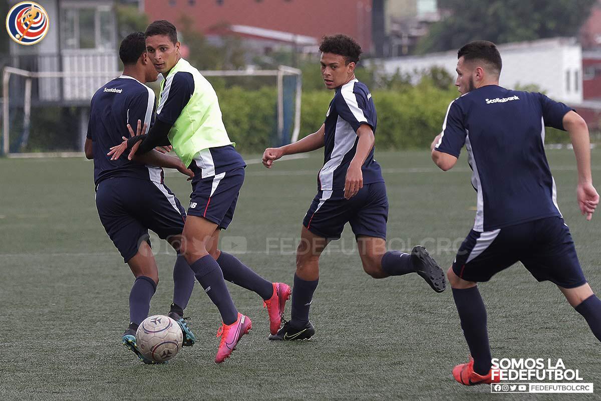 Sub-20 entrena pensando en la realidad del fútbol internacional