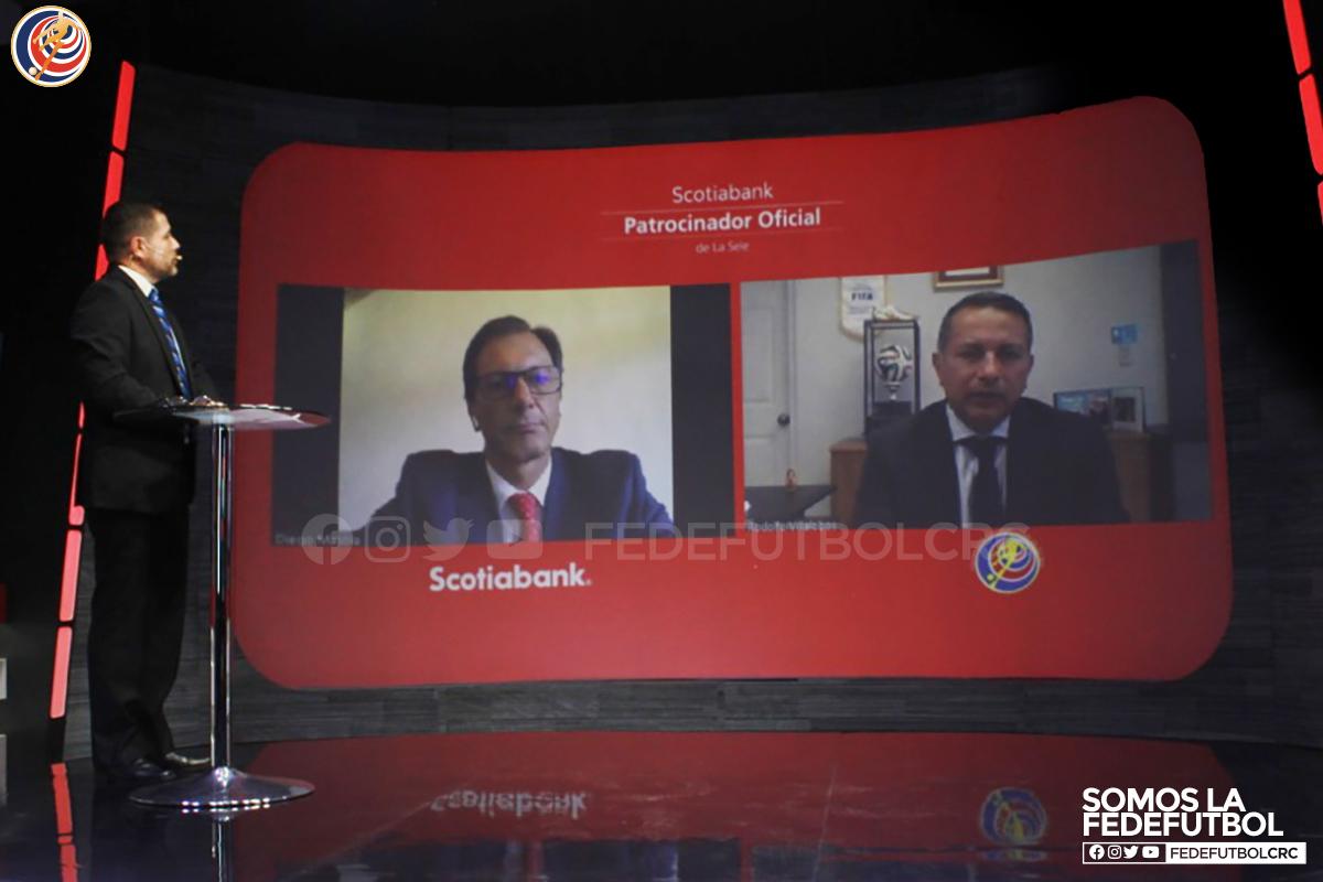 Scotiabank renueva patrocinio con la Fedefútbol por cuatro años