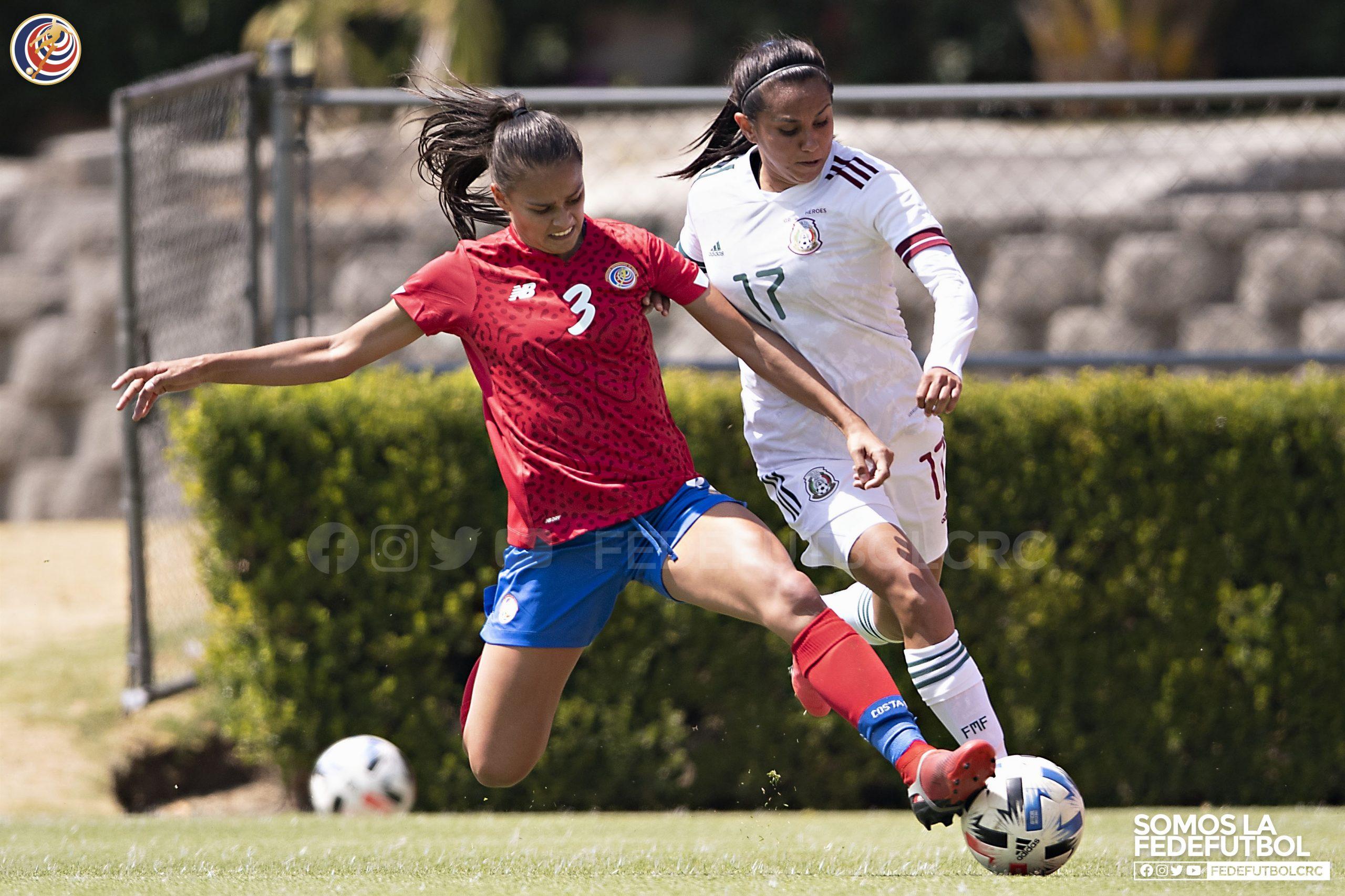 Femenina cierra fogueos con empate ante México