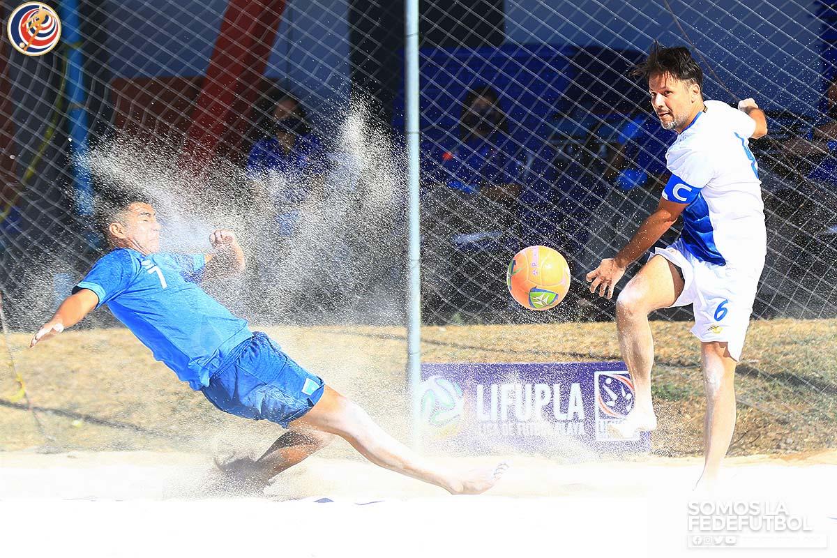 La Sele de Fútbol Playa terminó serie de fogueos con victoria ante Guatemala