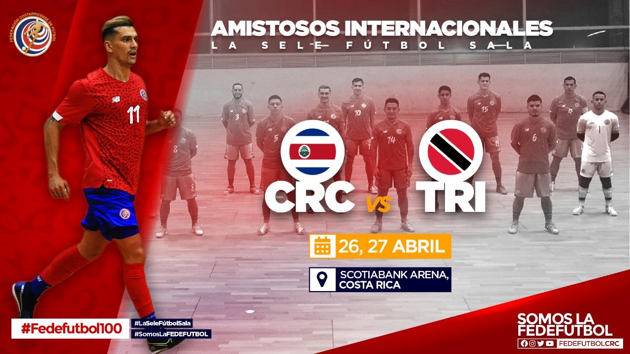 Sele de Fútbol Sala cerrará preparación con fogueos ante Trinidad y Tobago
