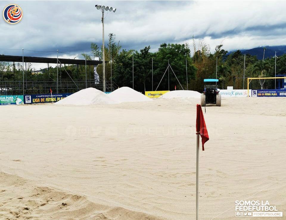 Fedefútbol afina detalles para ser la casa del Premundial de Playa