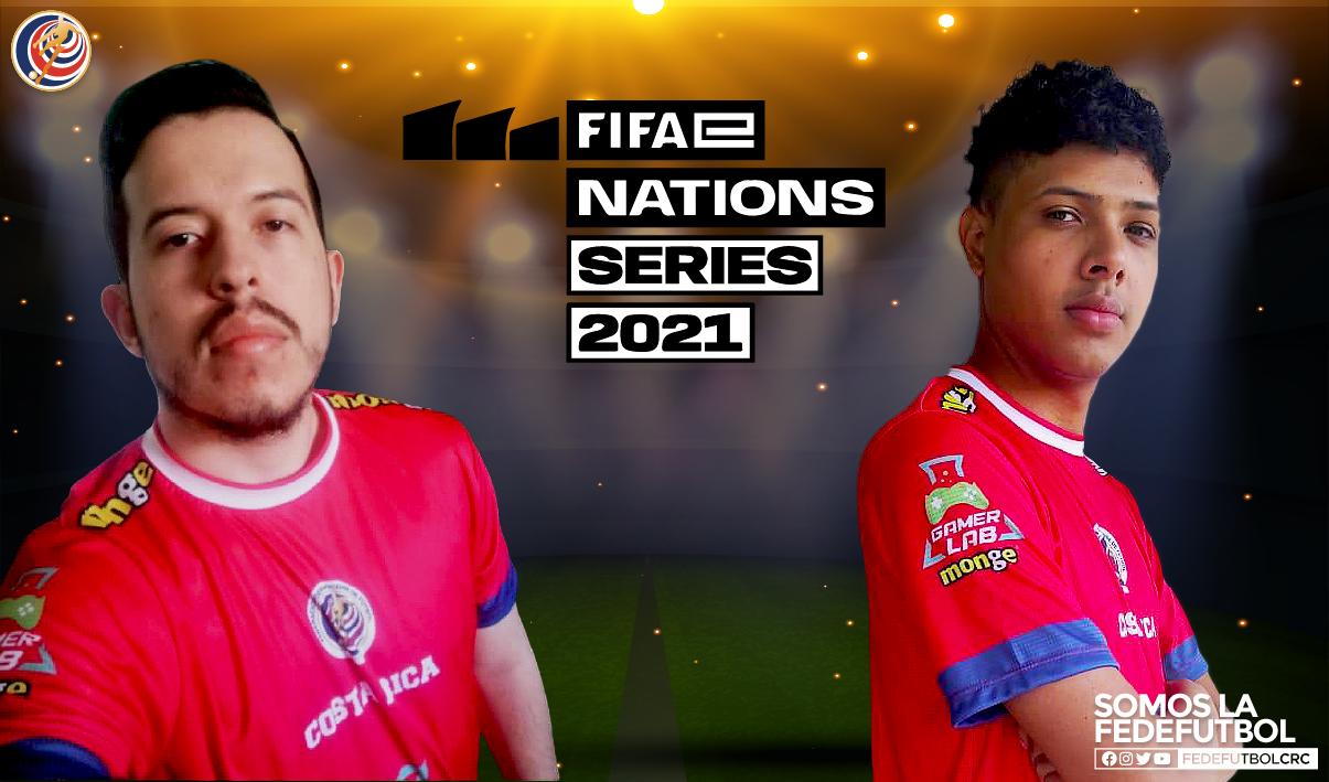 Selección de eSports de Costa Rica participa en etapa internacional de FIFA eNations 2021