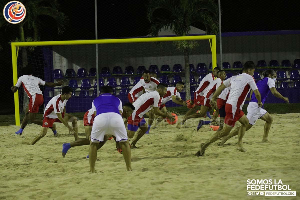 Experiencia nutre a la Selección de Fútbol Playa de cara al Premundial
