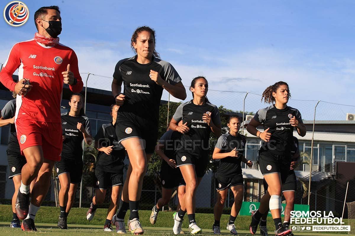 Selección Femenina inició trabajos previo a la fecha FIFA de junio