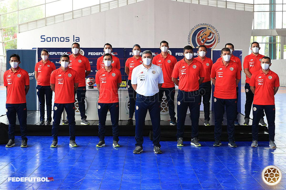 Luis Fernando Suárez presentó a su cuerpo técnico y la lista de jugadores para Copa Oro
